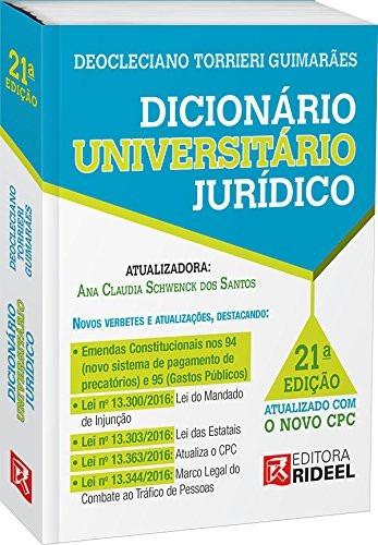 Dicionário Universitário Jurídico - Deocleciano Torrieri