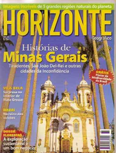 Revista Horizonte Geográfico - Minas Gerais/ Vila Bela