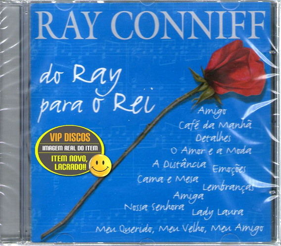 Cd Ray Conniff Do Ray Para O Rei Roberto Carlos Novo Lacrado