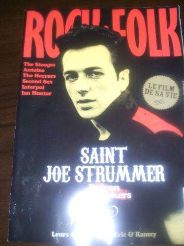 Revista Rock Folk The Clash Joe Strummer Stooges Interpol