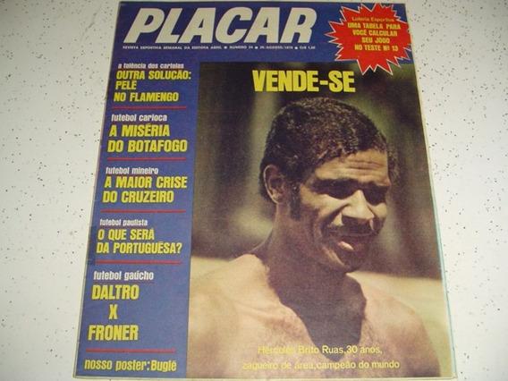 Revista Placar 24 Bugle Vasco Santa Cruz Gremio Inter 1970