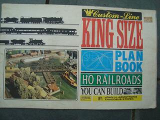 Maquete Ferromodelismo De 1975 Manual Montagem = King Size