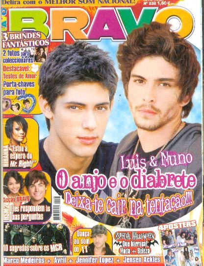 My Chemical Romance: Capa + Matéria Da Bravo Portugal 2007