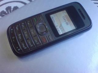 Celular Nokia 1208 (com Lanterna) Desbloqueado Carregador Ok