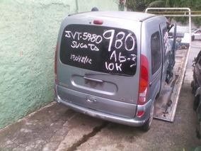 Sucata Kangoo 1.6 8valv. 2001 Pra Tirar Peças Motor Cambio