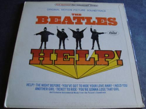 The Beatles, Help!, Lp Importado Soundtrack,