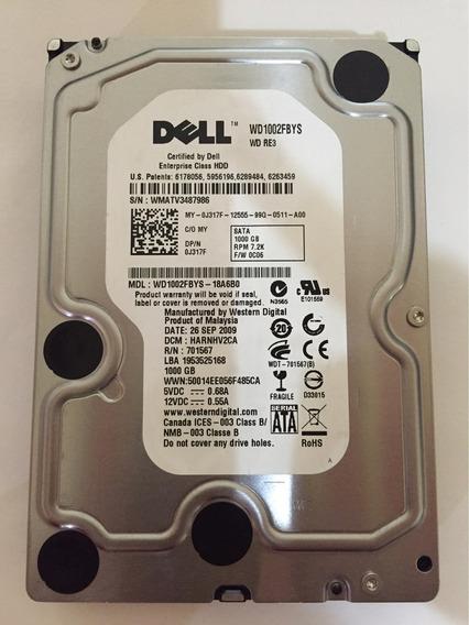 Hd Western Dell Wd1002fbys 1tb 7.2k Sata Pn Dell: 0j317f