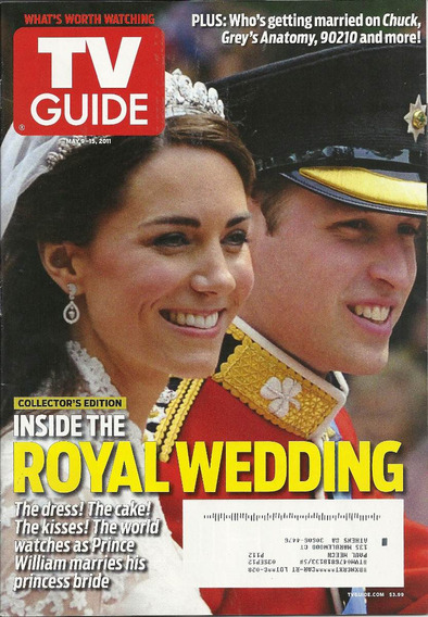 Tv Guide: Kate Middleton / Tom Welling / Nick Offerman