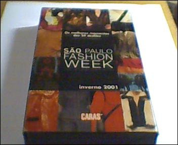 São Paulo Fashion Week 2001-fita De Vhs- Original- Caras