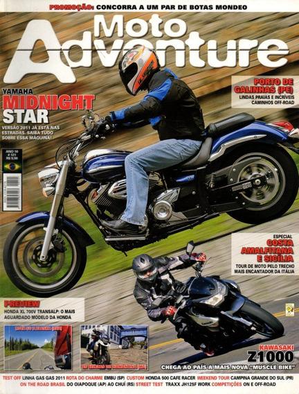 Moto Adventure N°121 Yamaha Midnight Star Kawasaki Z1000 Gas