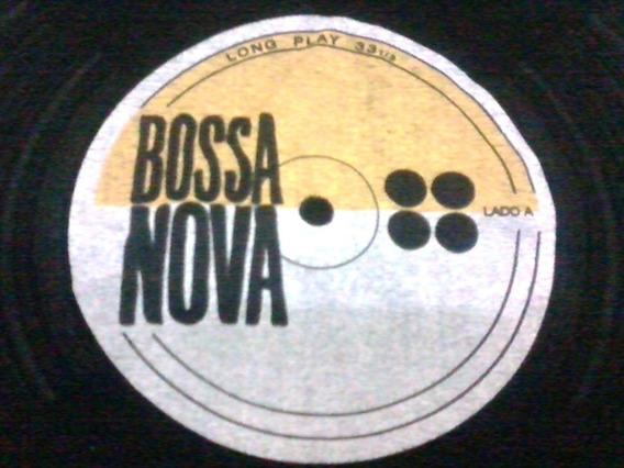 Camiseta Bossa Nova Disco De Vinil Lp Long Playtamanho M.
