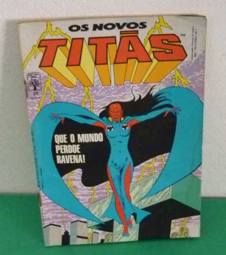Os Novos Titãs Nº 23 Fevereiro De 1988 Editora Abril .