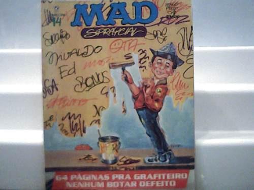 Revista Mad Especial 14 / 64 Paginas Pra Grafiteiro 1993