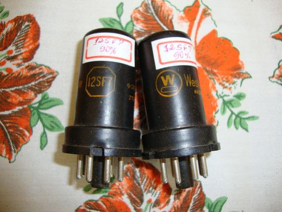 Válvulas 12sf7 -diodo -pentodo De Corte Remoto