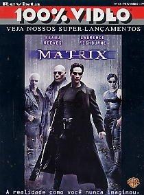 Revista 100%: Matrix / Keanu Reeves / Jackie Chan / Fishburn