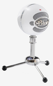 Microfone Blue Snowball Condensador Cardióide Usb