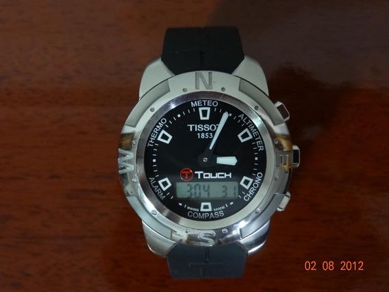 Relógio Tissot T-touch Z 252/352 Aço Seminovo