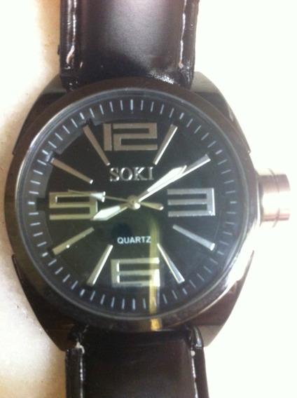 Relógio Soki Black 055