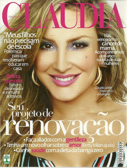 Revista Claudia 02 Ano 51 - Abril - Bonellihq Cx419 H18