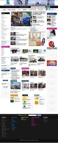 Sistema De Noticias Tipo R7 - Site Gerenciavel