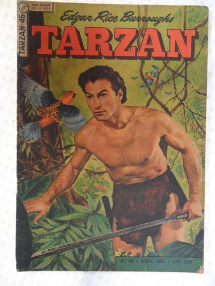 Tarzan Nº 46! 1ª Série! Ebal Abr De 1955!