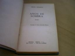 Anos De Sombra - Ferenc Kormendi - 1953