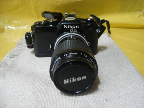 Camera Fotografica Nikon Fe - Profissional - Mineirinho -cps