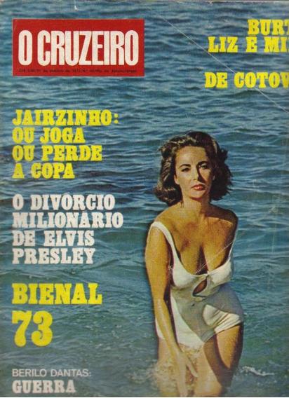 Revista O Cruzeiro Nº 44-31/outubro/1973-rio De Janeiro
