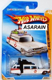 Ecto 1 Caça Fantasmas Ghostbusters Hot Wheels - 1/64