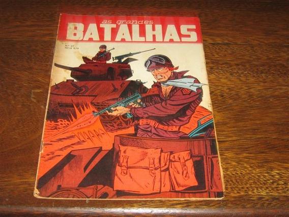 As Grandes Batalhas Nº 27 Ano: 1967 Editora Dado
