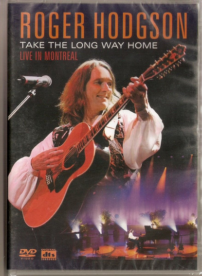Dvd Roger Hodgson - Take The Long Way Home - Novo***