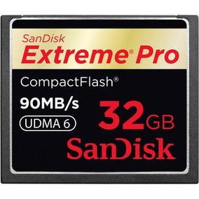 Sandisk Cartão Compactflash Extreme Pro De 32gb