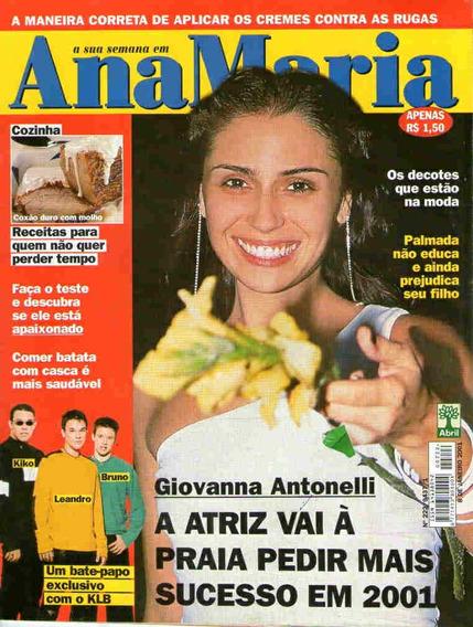 Ana Maria 222 * 08/01/01 * Giovanna Antonelli * Klb