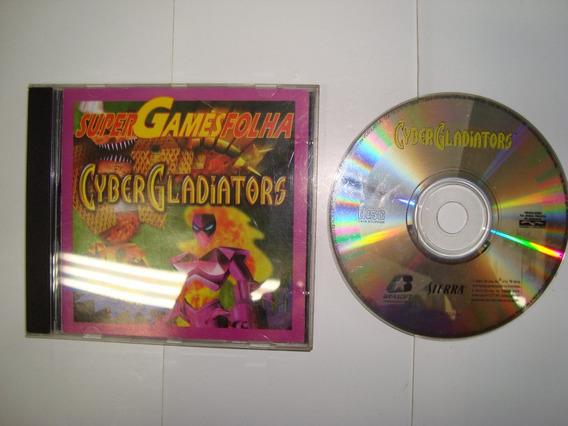 Cd - Game - Cybergladiators - Folha