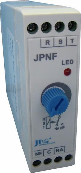 Relé Falta De Fase Jpnf Sem Neutro 220v / 380v
