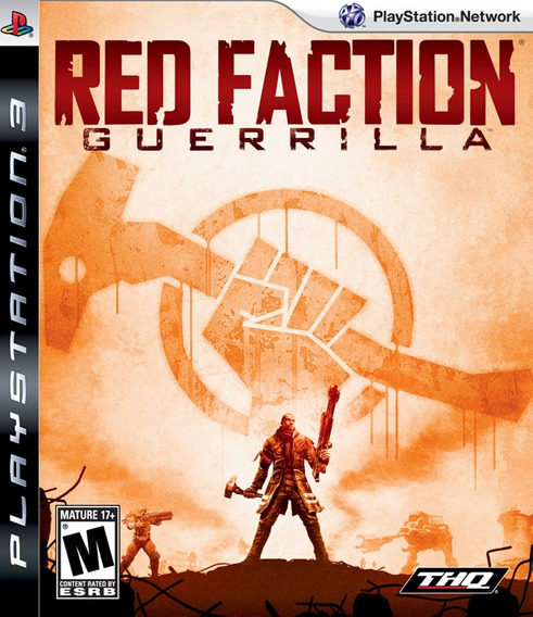 Red Faction Guerrilla Ps3 Novo Lacrado Original Mídia Física
