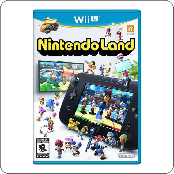 Nintendo Land Nintendoland - Wii U - Novo Lacrado
