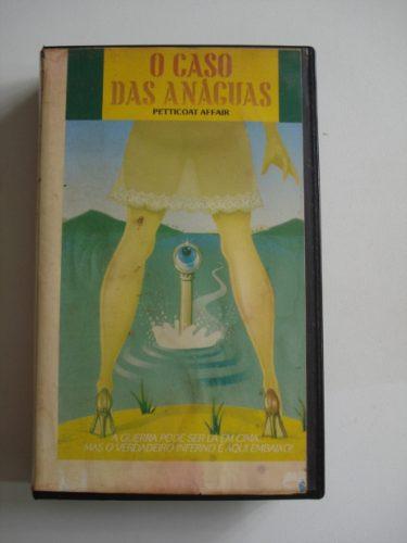 O Caso Das Anaguas Vhs*