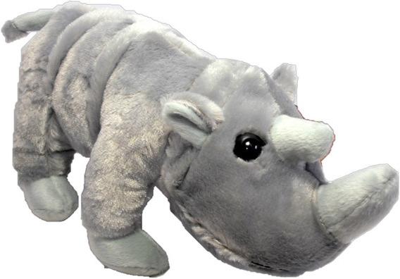 Rinoceronte Bicho Pelucia Brinquedo Decoração Presente