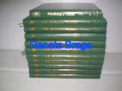 Livros 11 Volumes Medicina E Saude