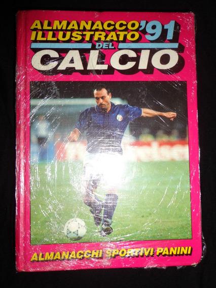 Almanacco Illustrato Del Calcio 1991 Panini