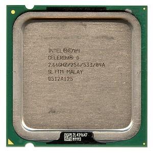 Processador Intel Celeron D 331 775 2.66 Ghz