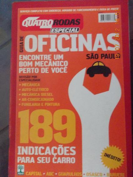 Quatro Rodas Especial Oficinas São Paulo/ 189 Indicações