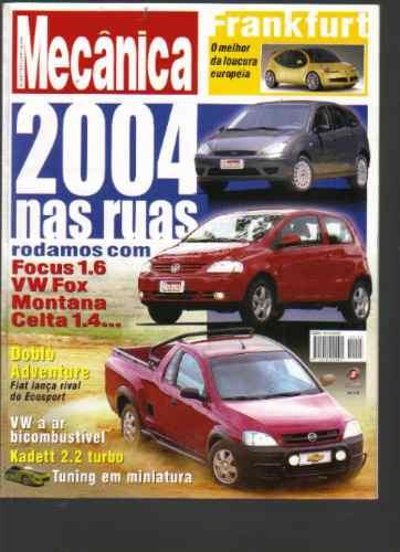 Revista Oficina Mecânica Nº 205 -2004 Nas Ruas -ed. Sisal