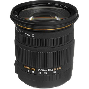 Lente Sigma 17-50mm F/2.8 Ex Dcos Hsm Zoom Nikon Nova