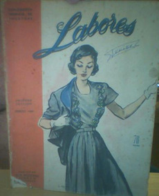 Revista Labores De Vosotras Março/1949-em Espanhol