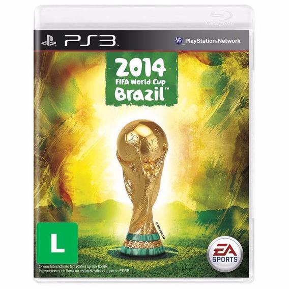 Game Ps3 Copa Do Mundo Fifa Brasil 2014 - Lacrado