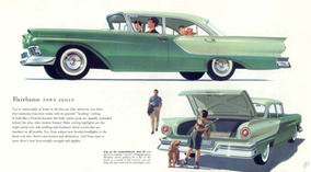 Ford Fairlane 1957 Documento Em Dia