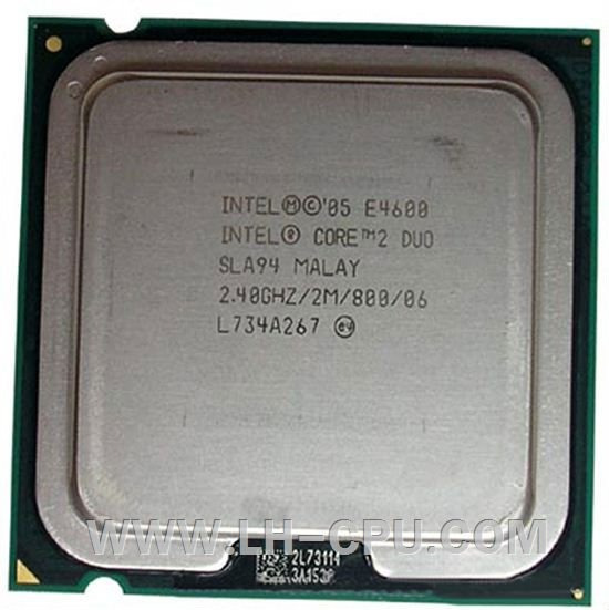 Processador Core 2 Duo E-4600 2.4gh 2m 800mhz Slot 775