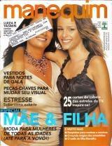 Manequim 521 * Mai/03 * Luiza Brunet * Yasmin Brunet